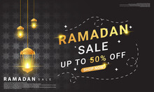 Ramadan Sales Background Templates, Perfect For Promoting Your Products At Islamic Events