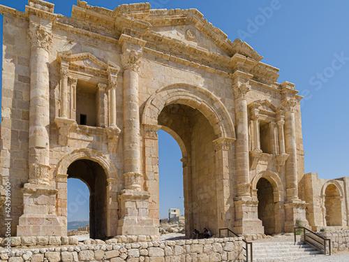 Fotografie, Obraz Arch of Hadrian
