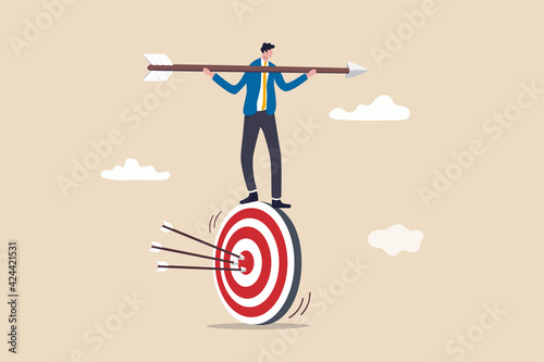 Result oriented business strategy or result driven, professionally set up and ac Fototapete