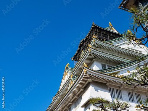 Fotografia 【大阪】日本最大級の入場者数を誇る大阪城