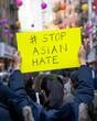 Rally asian hate safewalks Chinatown manhattan 3/20/2021