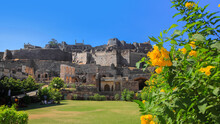 Historic Golconda Fort In Hyderabad, India