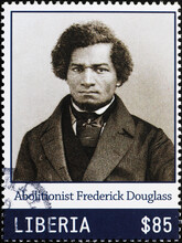 Abolitionist Frederick Douglass On Postage Stamp