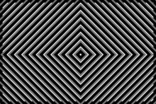 Vector Background - Geometric Pattern Of Black And Gray Rhombuses