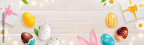Fototapeta Easter Magic Gifts Composition obraz