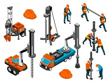 Driller Engineer Machinery Set