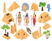 Egypt Isometric Set