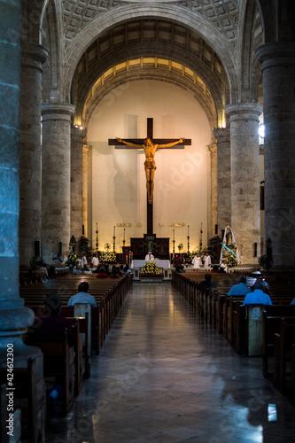 Canvastavla La eterna cruz