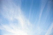 Blue Sky And White Clouds For Background