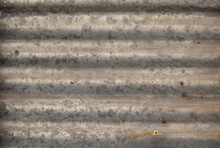 Picture Of Some Rusty Galvanized Sheet For Background