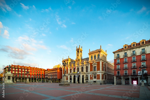 Valladolid historic and monumental city of old Europe Fototapet