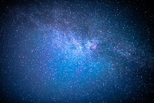 Universal Milky Way Galaxy With Stars