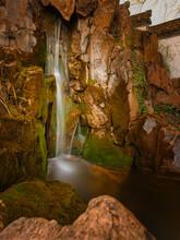 Wasserfall Im Chinesischen Garten Frankfurt