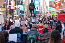 Myanmar Military Coup Protest Manhattan, NY 3/20/21