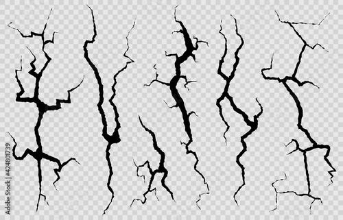 Cuadros en Lienzo Wall cracks