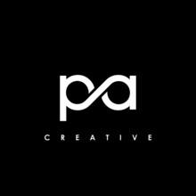 PA Letter Initial Logo Design Template Vector Illustration