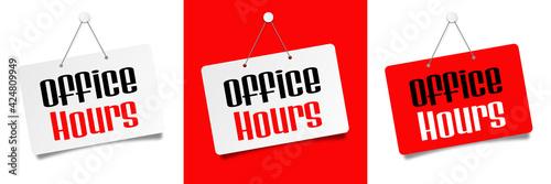 Carta da parati Office hours