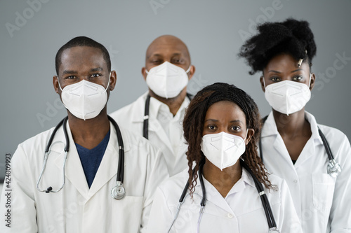 Slika na platnu Medical Healthcare Doctor Group