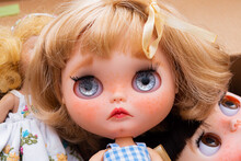 Blythe Doll Made To Order. Blythe Doll Has More Eyes.