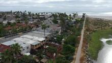 Beachside Community And Coast