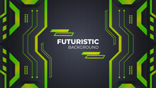 Abstract Vector Futuristic Geometric Background.Science And Technology Digital Line, Dynamic Shapes Composition. Eps10 Vector