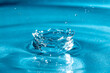kropla wody rozbryzg  plusk