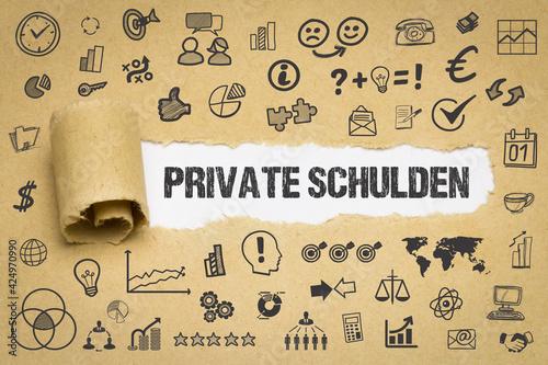 Fotografija Private Schulden