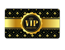 VIP Member Only Card