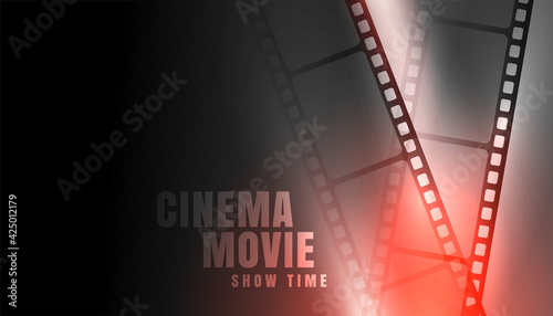 film strip cinema movie show time background Fotobehang