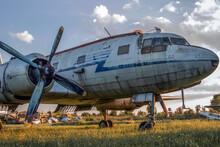 Ilyushin Il-14 Soviet Transport Aircraft (NATO-Codename: Crate)