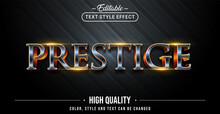Editable Text Style Effect - Prestige Text Style Theme.