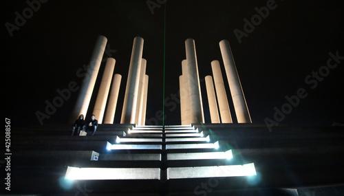Fotografering Cergy - Axe Majeur - Les 12 Colonnes