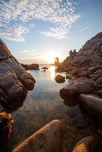 Tramonto A Capo Testa - Sardegna
