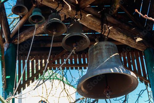 Fotografie, Obraz Close-up of orthodox church bells