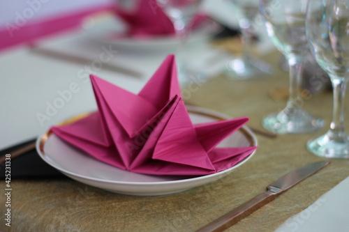 Foto table de mariage