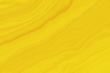 Background Of Yellow Waves Texture, Liquid Marble Effect Wallpaper.
