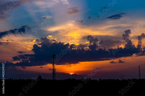 Fototapeta Wschód słońca obraz