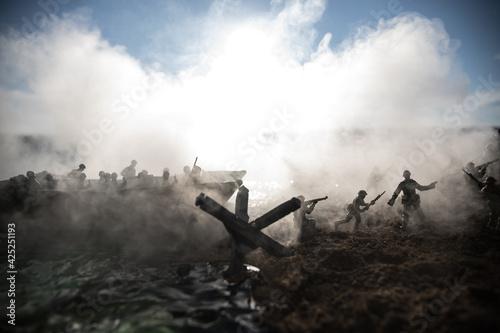 Fotografia World War 2 reenactment (D-day)