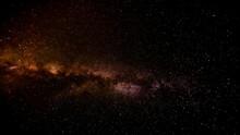A Space Flight Towards A Black Hole. CGI Based On Real Public-domain