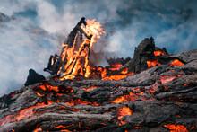 Icelandic Volcano Eruption 23rd March / Erupcja Wulkanu Islandia 23 Marzec