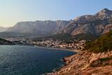Chorwacja Makarska widok na góry