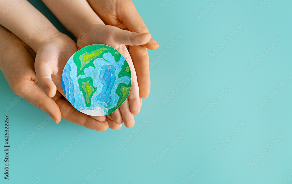 Fototapeta Earth day concept