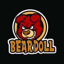 Bear Doll Mascot