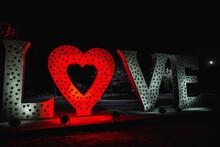 Love Is For Loveland Love Lock Sculpture