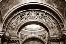 Interior Of The Catholic Cathedral Of Arad, Romania, Europe