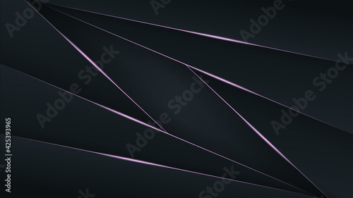 Fototapeta Vector abstract background with overlap layer background. Eps 10 obraz