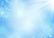 水の輝きと日差し 夏のイメージ 背景イラスト素材(青)