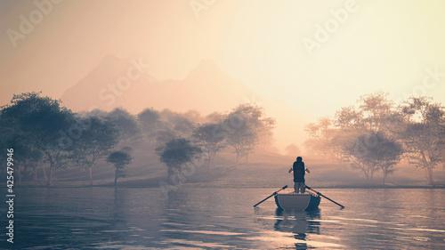 Photo Boat lake
