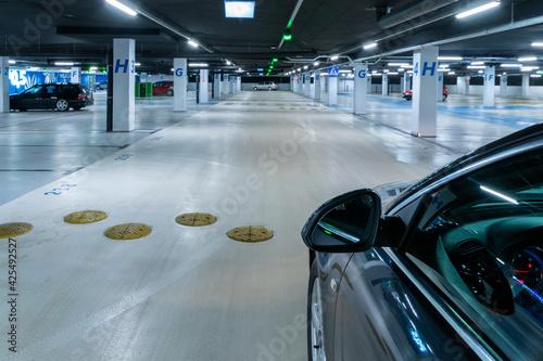 Fotografie, Obraz Parking lot