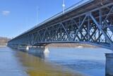 Plock most Legionow Pilsudskiego na Wisle
